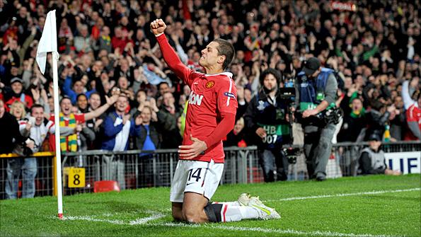 21ea4f430 Javier Hernandez has scored 16 goals in 17 starts for Manchester United