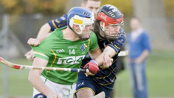 Scotland take on Ireland in the annual shinty-hurling internationals
