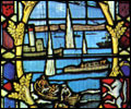 The Dunkirk stained glass window