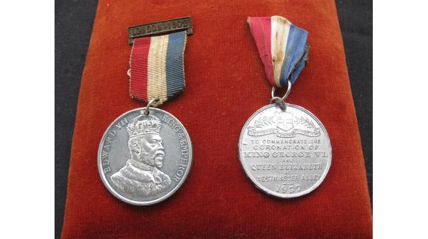 King George Coronation medal