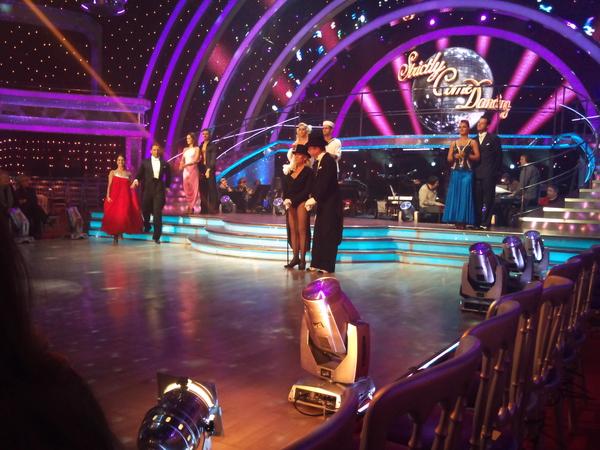 The five remaining Strictly Come Dancing couples take to the dancefloor in the dress rehearsal