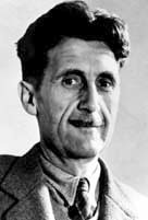 How did george orwell's childhood affect his writing