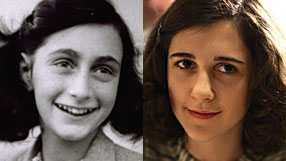 Anne Frank and Ellie Kendrick