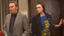 Philip Glenister and Keeley Hawes return for a final time in the time-travelling drama