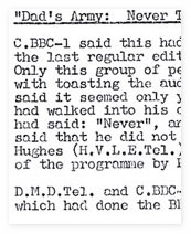 Programme Review Board Minutes.