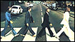 A cropped image from the Beatles' Abbey Road album cover (photo: Iain Macmillan)