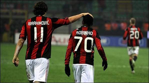 Ibrahimovic and Robinho
