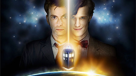 Doctor Who: David Tennant and Matt Smith (image: BBC/Todd Antony/Adrian Rogers)