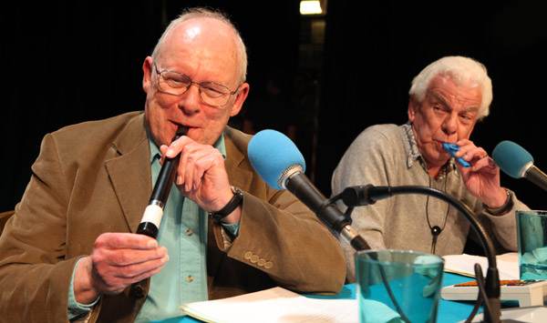 Graeme Garden and Barry Cryer