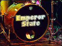 Emperor State's signiture drum kit