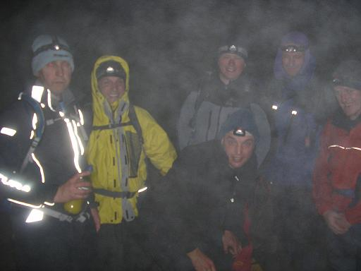 Middle of the night on Scafell Pike