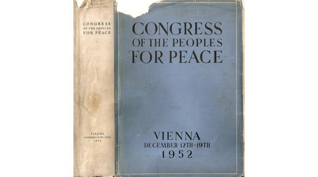Congress For Peace - Vienna 1952 [Book]