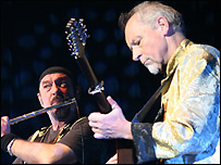Ian Anderson and Martin Barre