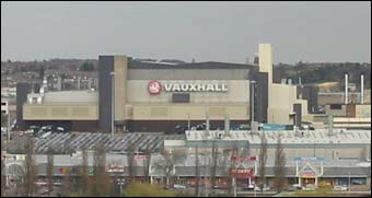 Vauxhall in Luton.