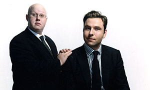 Matt Lucas and David Walliams of Little Britain