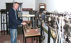 Alan Renton, Curator of the Porthcurno Telegraph Museum