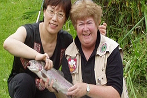 Fly fishing gets an all new cast as Nica Prichard teaches fishing courses to ethnic minority women from Swansea.