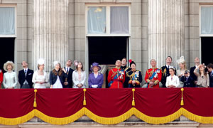 Members of the Royal Family join HM The Queen on her Official Birthday for the Annual Trooping The Colour Ceremony in London