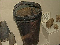 Artefacts recovered from the Mary Rose