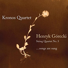 "Review of  String Quartet No. 3 ""...songs are sung"""