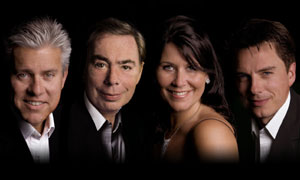 David Ian, Andrew Lloyd Webber, Zoe Tyler and John Barrowman