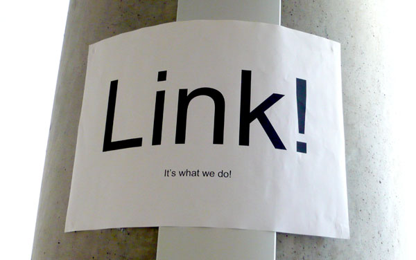 Link it's what we do poster