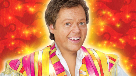 Jimmy Osmond in the Swansea Grand's Aladdin