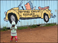 One of the resource centres in Mathare