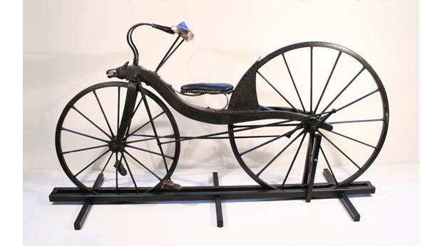 In 1839 a blacksmith, Kirkpatrick Macmillan, fitted pedal operated cranks to a hobby horse to create the first bicycle.