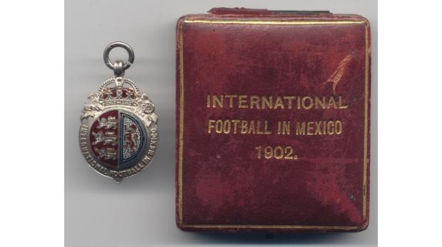 Mexican football medal