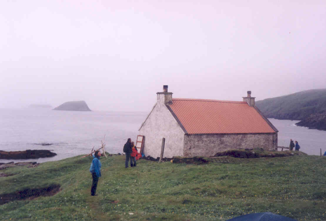 The Cottage and the Galtenach in the background