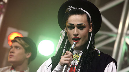 Douglas Booth as Boy George