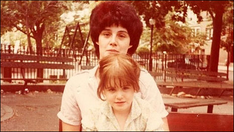 Childhood Photo of Liz with her Mother