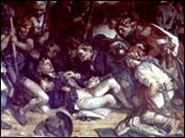 Painting of Nelson's death