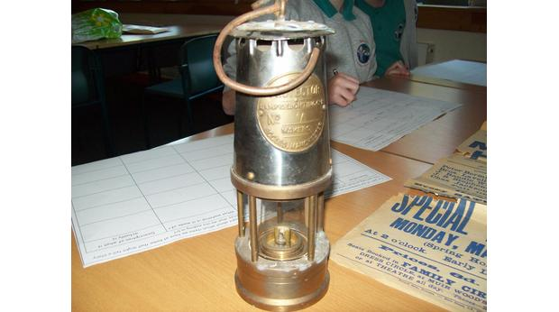 My Great Great grandads Davy Lamp