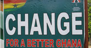 NDC campaign poster promising change