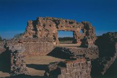 Roman baths at Wroxeter