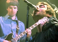 Oasis's Noel Gallagher (left) is the songwriter in the family