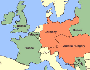 Map Of Ww1 BBC   History   World Wars: Animated Map: The Western Front, 1914