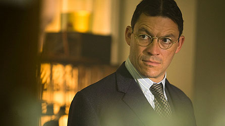 Breaking The Mould: Dominic West as Howard Florey (image: Giles Keyte)