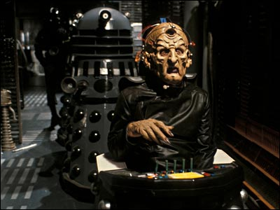 Davros and Dalek in Resurrection of the Daleks