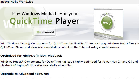 Windows Media Player download step 2 – Download