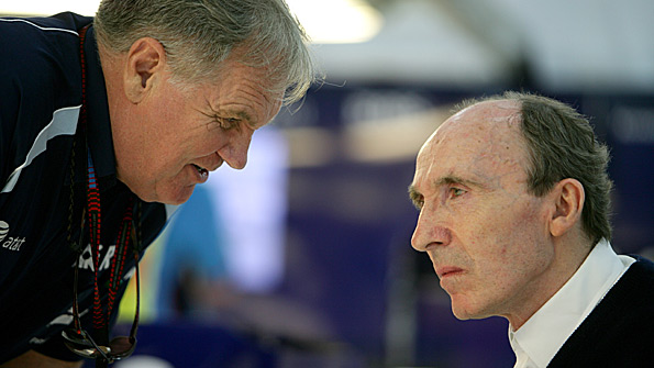 Patrick Head and Sir Frank Williams