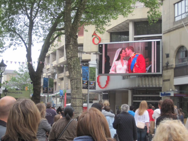 BBC Big Screens for the Royal Wedding