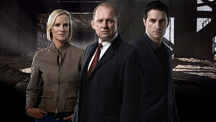 Spooks series seven: (l-r) Hermione Norris, Peter Firth and Richard Armitage