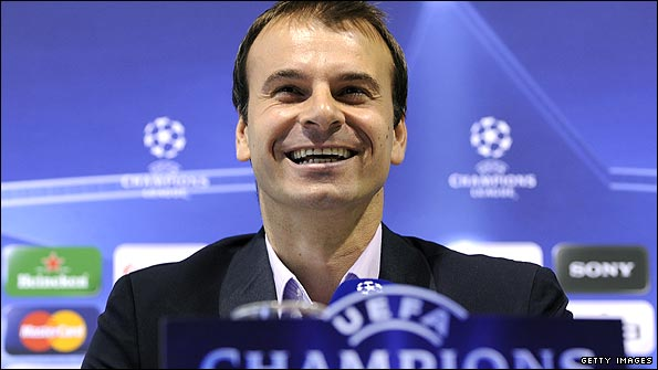 Stanojevic is enjoying his first campaign as a Champions League manager