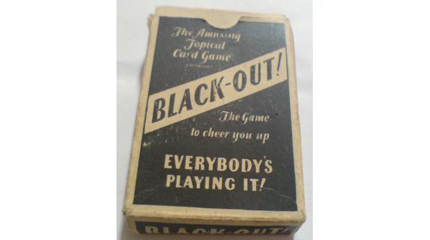 Black Out! card game