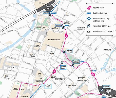 BBC Manchester Travel All change on Metrolink