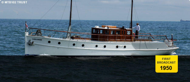 Lightoller's boat, 'Sundowner'.