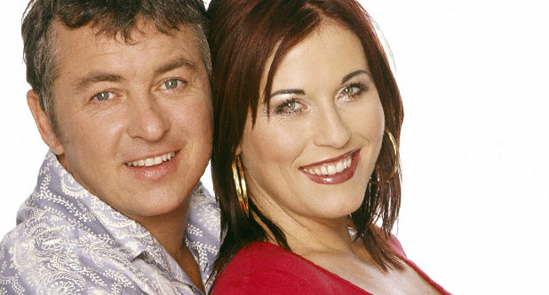 Shane Richie as Alfie Moon and Jesse Wallace as Kat Moon
